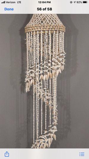Vintage boho chandelier for Sale in Waxhaw, NC