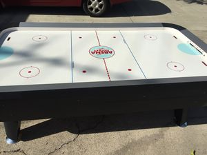 Harvard Air Hockey table . Excellent Cond. Has audible score keeping, Arena broadcast. First $275.00 OBO takes it. Need to sell ASAP! Call 916-416-11 for Sale in Sacramento, CA