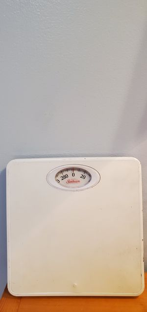 Sunbeam Exercise Workout Weight Scale $7.00 for Sale in Gardena, CA