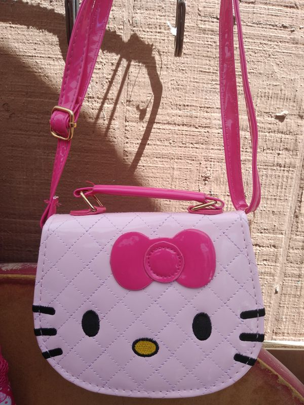 NEW! HELLO KITTY BACKPACK, TOTE BAG AND PURSE!