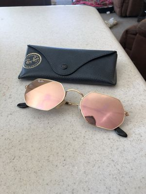 Ray Ban Pink Mirror Hexagon Sunglasses for Sale in San Diego, CA