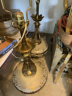 Set of antique lamps for Sale in Austin, TX