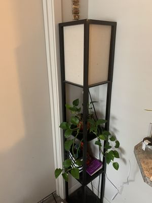Lamp with shelves for Sale in Vancouver, WA