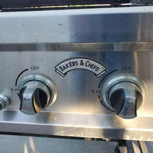 Bakers &Chefs BBQ Grill For Your Backyard Your Small Taco Stand for Sale in Fontana, CA