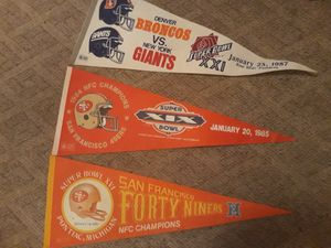 Vintage NFL Pennants for Sale in Berlin, CT