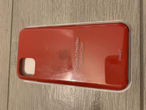 Apple iPhone 11 pro max silicon case for Sale in Modesto, CA