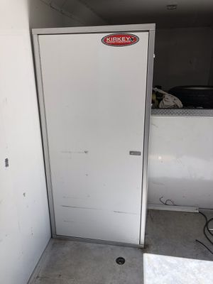 Enclosed trailer cabinet all aluminum for Sale in Culver City, CA