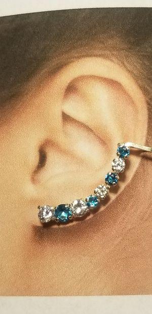 Sterling silver cuff Earrings for Sale in El Cajon, CA