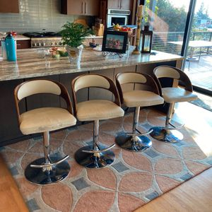 Bar Stool Modern / Leather for Sale in Seattle, WA