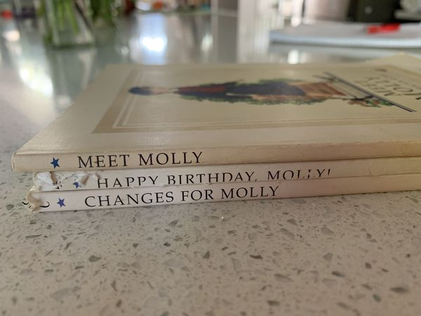 American Girl Molly books