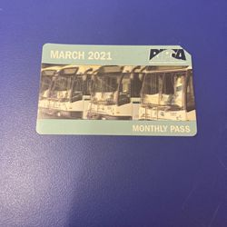 March 2021 Monthly Buss Pass for Sale in Providence,  RI