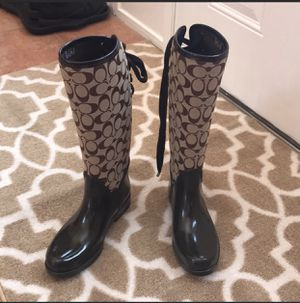 Coach Rain Boots for Sale in Moon, PA
