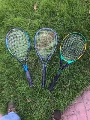 Tennis Rackets. All three for 25 for Sale in Bellerose, NY