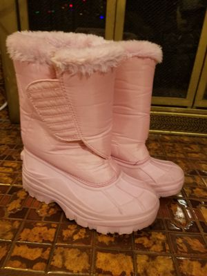 Girl Snow boots size 1 for Sale in Fontana, CA