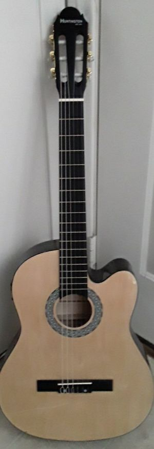 Brand new classical nylon string acoustic electric guitar for Sale in Mt. Juliet, TN
