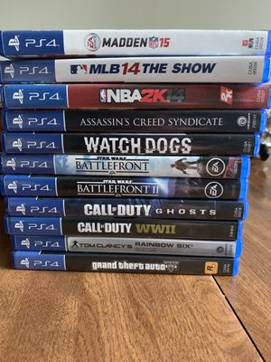 PlayStation 4 games for Sale in Altoona, WI