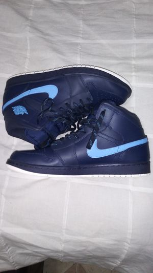 Jordan retro 1 Navy blue and baby blue for Sale in Homestead, FL
