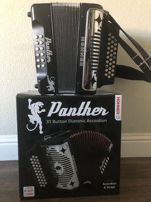 HONER Panther Accordian for Sale in Fresno, CA