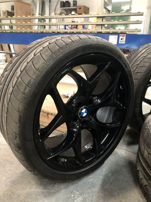 """21"""" oem bmw wheels tires x5m x6m for Sale in The Bronx, NY"""