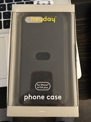 Heyday Apple iPhone 8+/7+/6s+/6+ Silcone case-Matte Black NEW for Sale in San Diego, CA