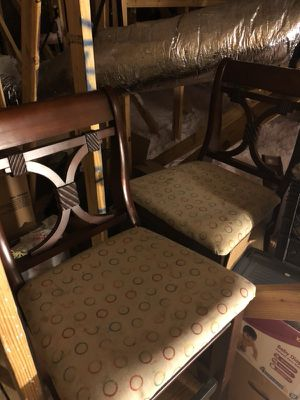 Real wood bar stools for Sale in Wimauma, FL