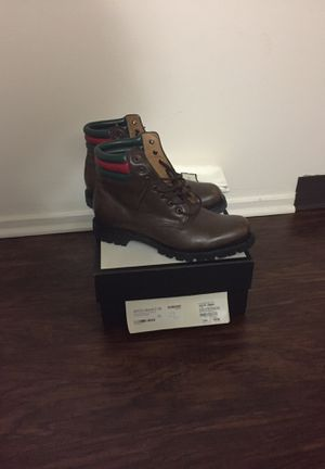 Gucci Boots Men's 10.5 fits 11 as well for Sale in Pittsburgh, PA