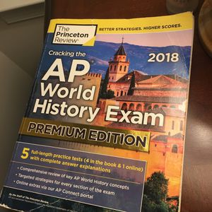 Used AP World History Exam Study Guide for Sale in Ellicott City, MD