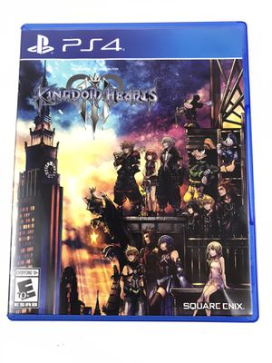 Kingdom Hearts 3- PS4 for Sale in Eustis, FL