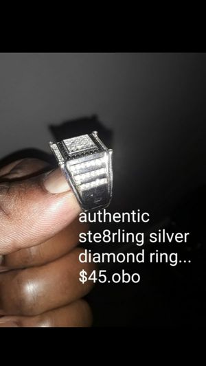 Sterling Silver diamond ring for Sale in Baltimore, MD