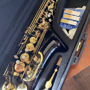 Black Alto Saxophone with New Set of Reeds Excellent Condition $350 Firm for Sale in Mansfield, TX