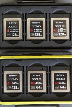 Sony XQD Memory Cards (G-Series) for Sale in Richmond,  CA