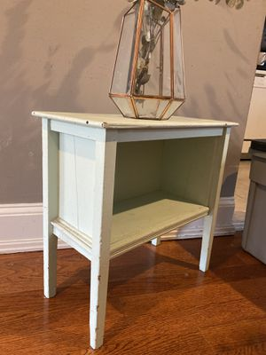 Mint Green Wooden End Table/Nightstand for Sale in Washington, DC