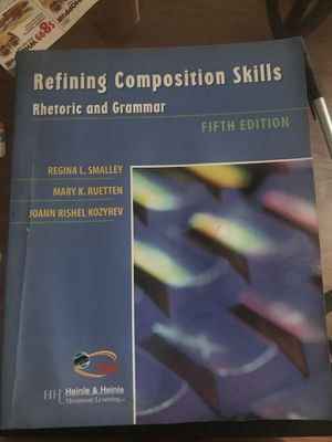Composition skill rhetoric and grammar textbook fifth edition for Sale in Columbus, OH