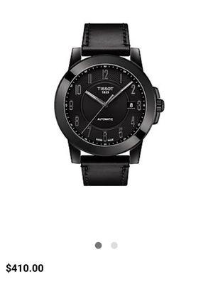 Tissot black on black Swiss watch for Sale in Monterey Park, CA