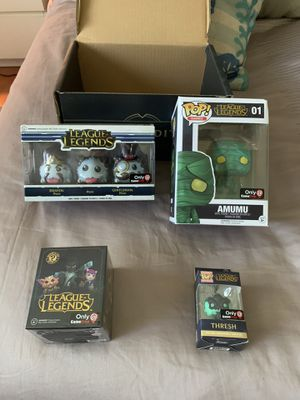 League legends box collector limited edition new for Sale in Pembroke Pines, FL