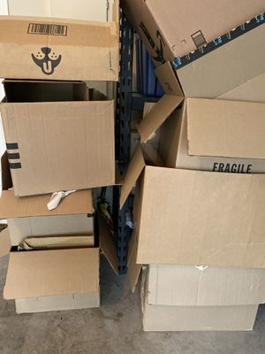 Free boxes and packing paper!!! for Sale in Plano, TX