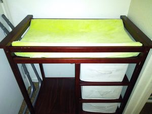 Baby Changing table for Sale in Mount MADONNA, CA