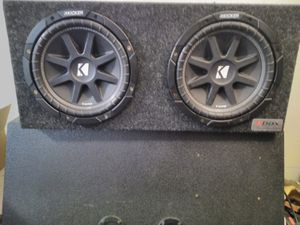2 10 inch kicker comps! 1000 watt dual 10 inch bbox! $180 OBO for Sale in Portland, OR