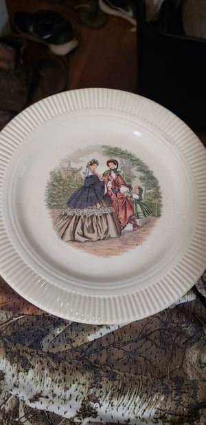 Salem Godey Prints (Ribbed Rim) Dinner Plate for Sale in Lebanon, TN