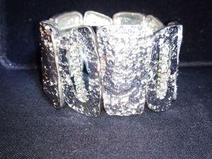 Silver Stretchy Bracelet for Sale in Spokane, WA