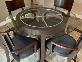 Glass Dining Table With 4 Chairs for Sale in Everett,  WA