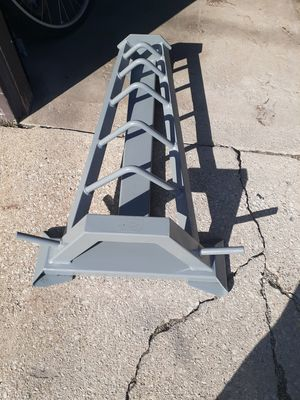 Rack for Olympic plates for Sale in Summit, IL