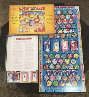 Battle of the Sexes Board Game Complete for Sale in Port St. Lucie, FL