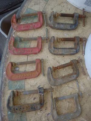 8 prenzas de 2 pulgadas for Sale in Ontario, CA