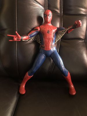 """Marvel 2017 Hasbro Spider-Man 15"""" Action Figure Talking 40+ phrase Pre-Owned for Sale in Hayward, CA"""