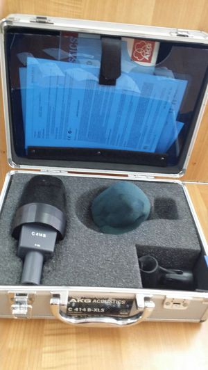 Akg acoustic c414 b microphone for Sale in La Puente, CA