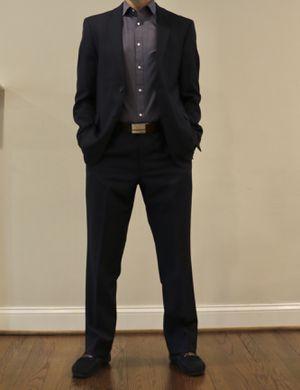 Mens suit - Tommy Hilfiger (Blue), 40 Jacket, 32x32 Pants for Sale in Fairfax, VA