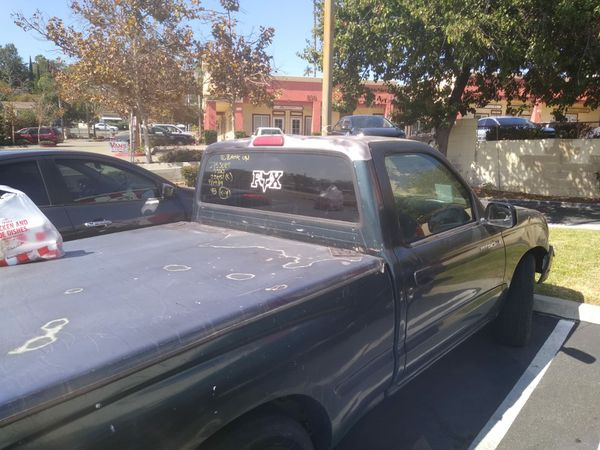 Toyota Tacoma good condition / pass smog check miles 13,000 stick shift 2 Doors/ year 98