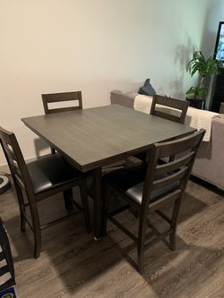 MUST GO!!! 5 pc bar height table set for Sale in Atlanta,  GA