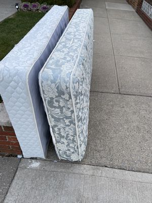 Twin Bed Mattress + Frame for Sale in Brooklyn, NY